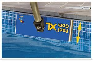 nettoyage fond piscine gomme plastique nettoyer fond piscine pool 39 gomxl. Black Bedroom Furniture Sets. Home Design Ideas